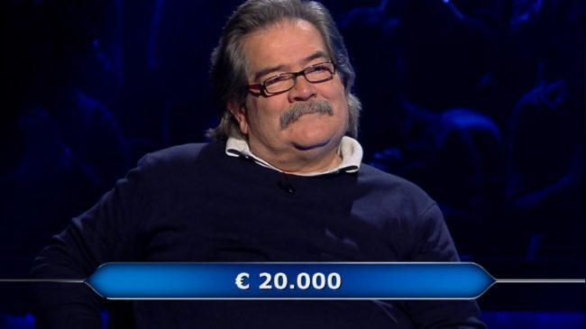 Un chiavarese al &#8220&#x3B;Milionario&#8221&#x3B;, Noceti torna a casa (a Carasco) con 20mila euro