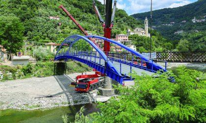 Passerella ciclo pedonale San Giuseppe a Rivarola di Carasco, inaugurazione venerdì 21 dicembre