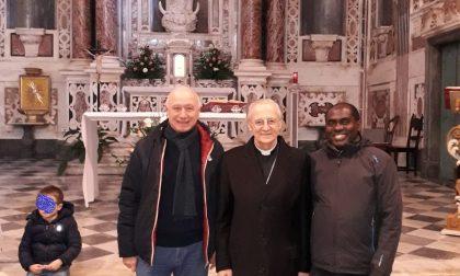 La comunità favalese a Sanremo incontra monsignor Careggio sulle note della messa in genovese