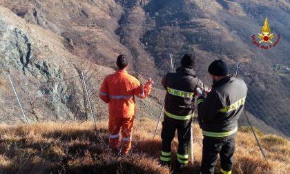 Monte Aiona, due ettari di arbusti e prato distrutti