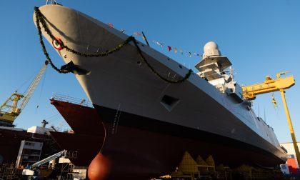 Varo della fregata Schergat a Riva, le foto