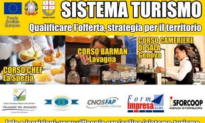 """""""Sistema Turismo"""": aperte fino al 7 Febbraio le iscrizioni ai corsi per Chef, Barman e Cameriere di sala"""