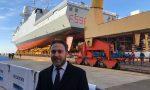 Varata a Riva la fregata Schergat, presente il presidente del consiglio regionale