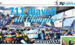Il grande cuore dell'Entella all'Olimpico
