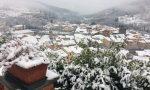 Allerta neve, il risveglio imbiancato nell'entroterra