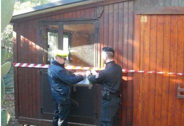 Sequestrata casa di legno abusiva a Sestri Levante