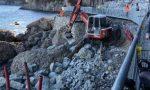 Portofino, non si fermano i lavori di ricostruzione della strada