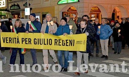 Giulio Regeni, ieri fiaccolata e conferenza a Chiavari