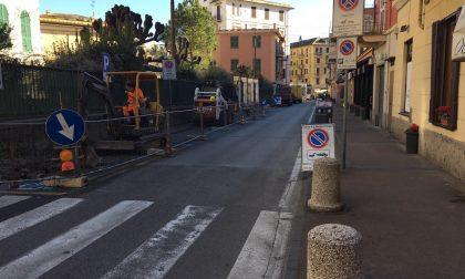 Santa Margherita Ligure, iniziati i lavori di riqualificazione di via XXV Aprile