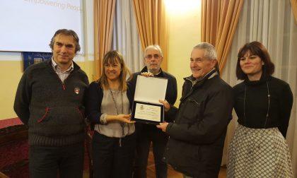 Enrico Medone premiato dal Comune di Sestri