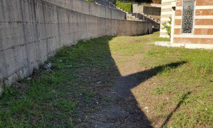 Segnalazioni al cimitero, il sopralluogo di Noi di Chiavari