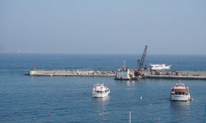Santa Margherita Ligure, post mareggiata: il buco nella diga del porto non c'è più