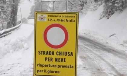 Allerta meteo neve: il bollettino delle 7 relativo alla viabilità sulle provinciali