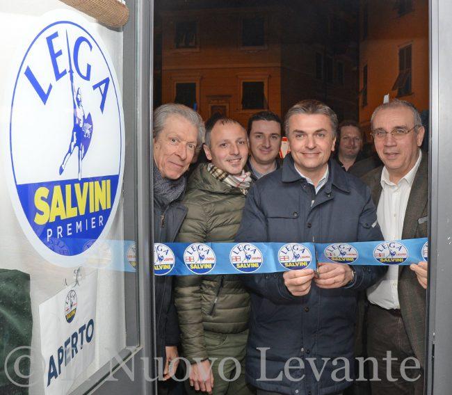 Inaugurata la nuova sede della Lega Nord a Chiavari