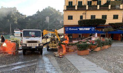 Uno Mattina in visita a Portofino