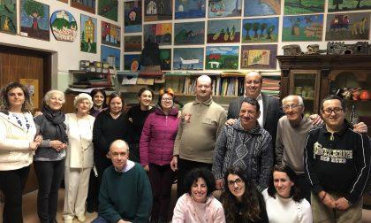 Di Capua in visita a Il Mosaico