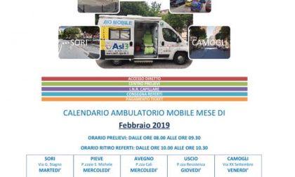Pieve Ligure, ambulatorio mobile: gli orari di febbraio