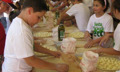 A Pieve Ligure arriva il laboratorio di focaccia al formaggio per i bimbi