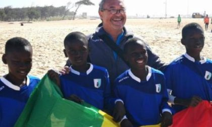 Il grande sogno di Ruggero per i bimbi del Senegal