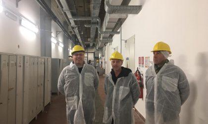 Il sindaco Di Capua visita gli impianti di depurazione di Recco e di Quinto