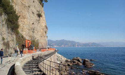 Strada di Portofino, domenica 7 aprile la riapertura