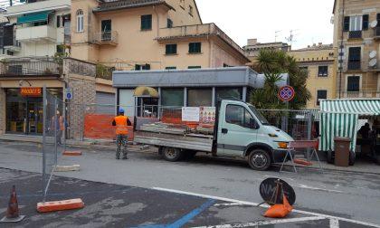 Lavagna: al via oggi la demolizione della veranda Ostigoni