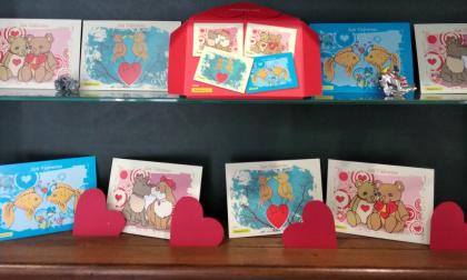 A San Valentino negli uffici postali del Levante le cartoline per gli innamorati