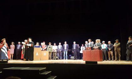 I sindaci in scena al teatro della Corte spostano il capoluogo ligure da Genova a Coreglia