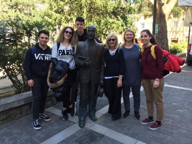 I ragazzi del Natta in Slovenia con l&#8217&#x3B;Erasmus Plus