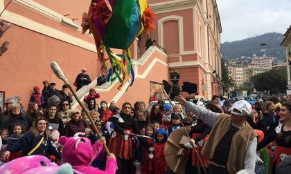 Camogli invasa dal Carnevale