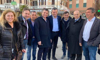 Ieri il Ministro Centinaio in visita a Rapallo