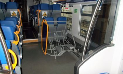 Sui treni Jazz nuovi posti dedicati alle biciclette