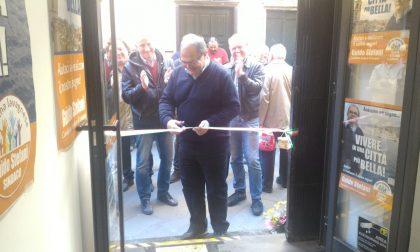 Inaugurato il point di Guido Stefani, candidato a Lavagna