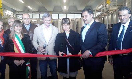 Bisson inaugura la nuova cantina a Sestri Levante