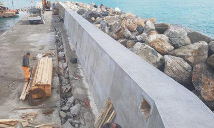 Diga di Santa Margherita, ricostruito il muro