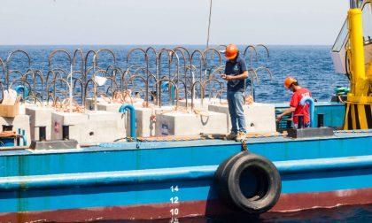 Le macerie del porto di Rapallo? «Affondarle nel golfo come deterrente alla pesca a strascico»