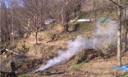 Incendio boschivo: due multe per 4mila euro