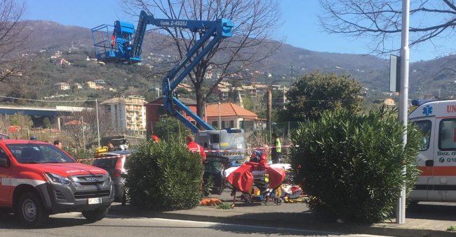 Incidente in viale Kasman, alla guida Giovanni Laneri