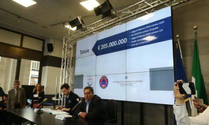 Protezione civile e difesa del suolo, oltre 200 milioni assegnati a 150 Comuni liguri per più di 800 interventi