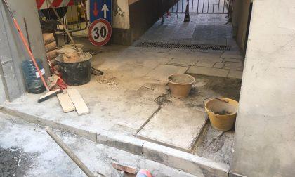 Manutenzione canali a Chiavari, riapre Vico Malpertuso