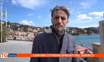 Santa Margherita Ligure: post mareggiata, lavori in banchina e piazzale Rizzo