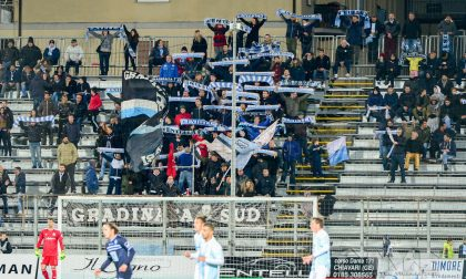 Striscione offensivo contro l'Albissola, multa per la Virtus Entella