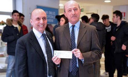 Caboto e Alfana: donati mille euro al Gaslini