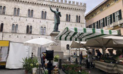 Piazza Mazzini protagonista di un video promozionale per Slow Fish Genova
