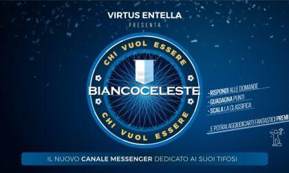 """""""Chi vuol essere Biancoceleste"""", il nuovo canale Messenger della Virtus Entella"""