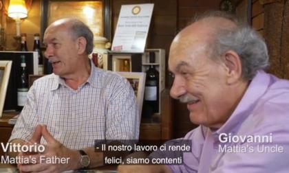 La TV australiana rende onore al ristorante Da O Vittorio di Recco