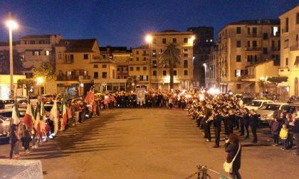 Stasera a  Lavagna la tradizionale fiaccolata per il 25 Aprile