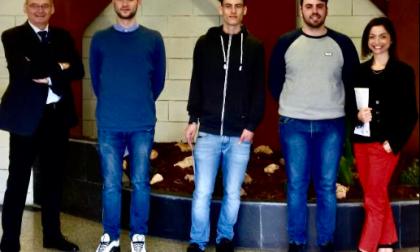 Due diplomati dell'Istituto Natta De Ambrosis di Sestri Levante assunti dall'Istituto Italiano della Saldatura