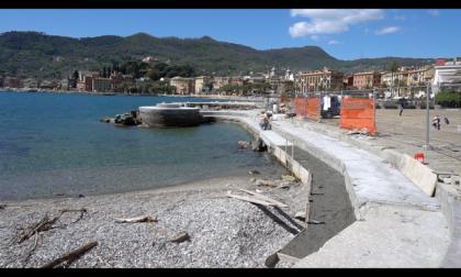 Santa Margherita Ligure, ok alla ricostruzione della passerella pedonale sul mare tra Santa Margherita Ligure e Paraggi