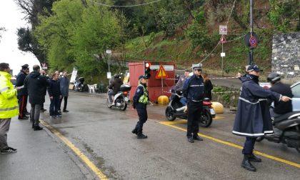 Riapre a senso unico alternato la strada di Portofino